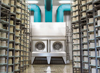 Conditionnement air industriel affinage fromagerie